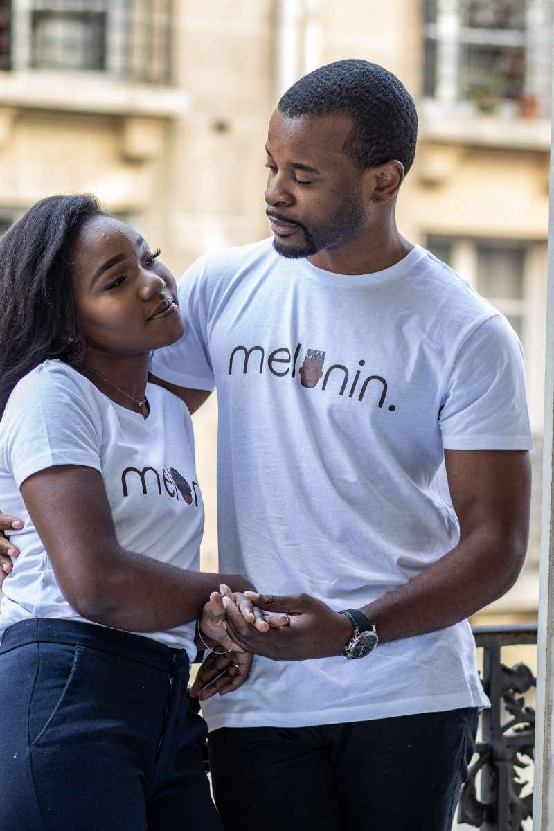 T-shirt bio MELANIN - COUPLE