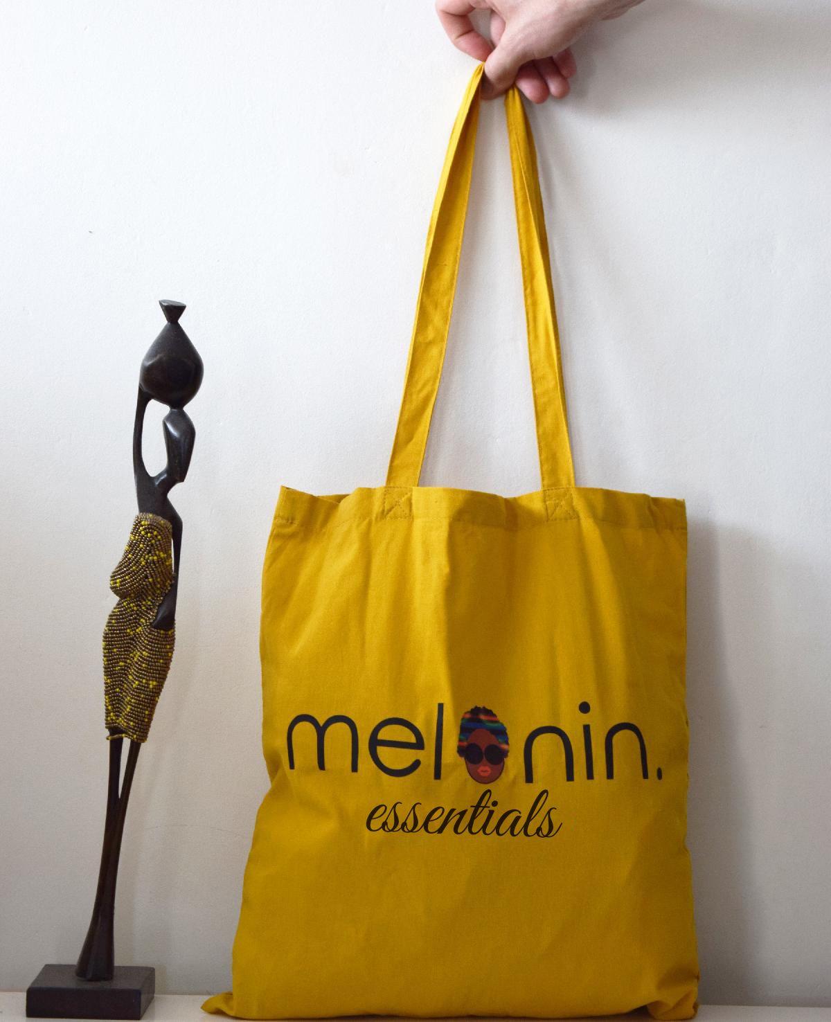 Tote-bag imprimé Melanin things